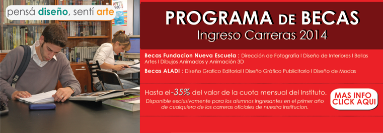 Becas 2014 for Diseno de interiores a distancia